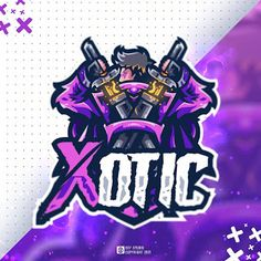 oxy.std  Purple Swordman Mascot Logo Thanks for order Sold on fiverr . . Available for commission work PAYMENT : PAYPAL , GOPAY , OVO , DAN... Page Background Design, Hacker Logo, Gaming Logo, Game Logo Design, Esports Logo, Mascot Design, Patch Design, Logo Inspiration, Team Logo