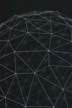 Wireframe Render Lines Dots iPhone 5 Wallpaper