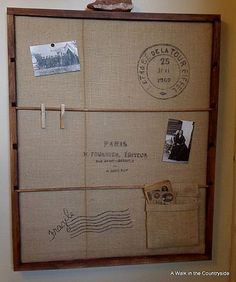 Hmm...I like this...maybe something similar to hold the mail when it gets brought into the house.