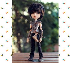Taeyang Doll Glory Warrior Outfit, armor, ax