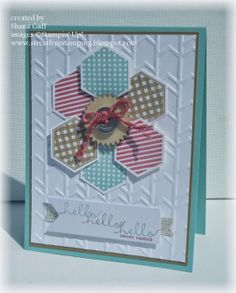 Stress-Free Stamping with Shana: The Stamp Review Crew: Six-Sided Sampler Edition