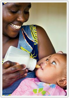Your gift of specially designed nursing bottles makes it possible for children with cleft palate to get sufficient nutrition and regain their health in time for an #OperationSmile surgery. $25 USD
