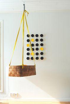 Hanging basket crib