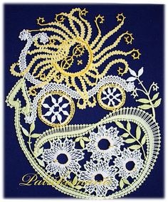 vozilo se na jaře - návrh a realizace V.Cepáková Lace Heart, Lace Jewelry, Bobbin Lace, Boutiques, Les Oeuvres, Lace Detail, My Design, About Me Blog, Butterfly