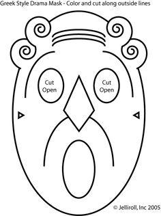Greek Mask 3a