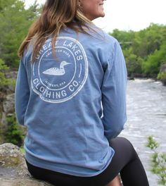 Vintage - Long Sleeve   Great Lakes Co. Size L or M