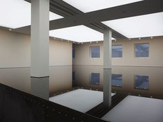 Saatchi Gallery, London | Richard Wilson 20:50 (site specific oil installation: 1987, used sump oil and steel)