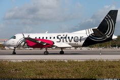 Silver Airways, Saab 340B, Fort Lauderdale - Hollywood International (FLL / KFLL), USA - Florida, December 23, 2013