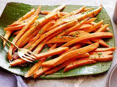 Sweet Potato Fries recipe from Ree Drummond via Food Network