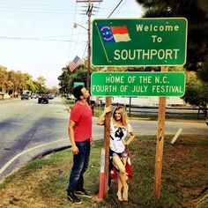 "Fergie and Josh Duhamel spent the 4th of July in Southport. via @Fergie.  Josh was on a movie set in Southport for ""Safe Haven"".  Its a Nicholas Sparks novel."