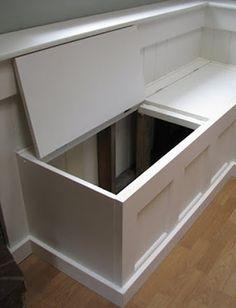 Gentil DIY Door Banquette. Kitchen Storage BenchKitchen ...