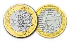 Moedas comemorativas da Olimpíada no Rio Foreign Coins, Valuable Coins, Coin Values, Summer Games, Roller Set, World Coins, Rare Coins, Coin Collecting, Olympic Games