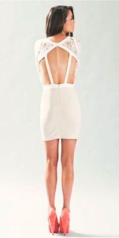 ONE WAY WINDOW DRESS BLUSH/IVORY $130- CALL SPLASH TO ORDER 314-721-6442