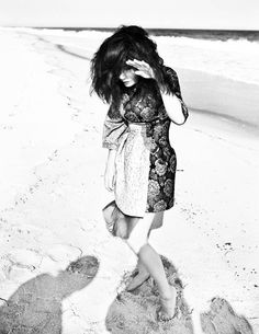 Inez + Vinoodh - AnOther Magazine The Sugarcubes, Female Singers, Dance Music, Fashion Photography, Bw Photography, The Incredibles, Magazine, Black And White, Fall Winter