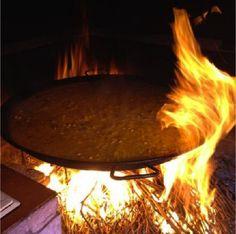 Foto #sinfiltros preparación #arroz #pinoso #cuinapinos #elseque #casarural #restaurante #delicious #like #me #happy #enjoy