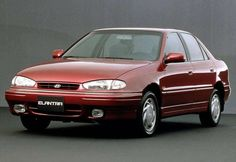 Check out this 1990 #Hyundai Elantra for #ThrowbackThursday #TBT