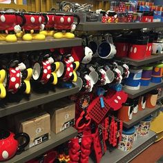 Mickey Mouse, Disney Theme, Disney Love, Mickey And Minnie Wedding, Disney Kitchen Decor, Disney Rooms, Dog Rooms, Teapots And Cups, Room Tour