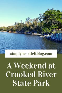 A Weekend at Crooked River State Park #Georgia #CrookedRiver #StMarys #JekyllIsland #cottages #hiking via @amerrill98 Palmetto Trail, Cumberland Island, Driftwood Beach, Fernandina Beach, River Trail, Us Destinations, Us Road Trip, Picnic Area, United States Travel