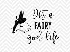 Es un hada buena vida Tinkerbell Disney por KristinAmandaDesigns