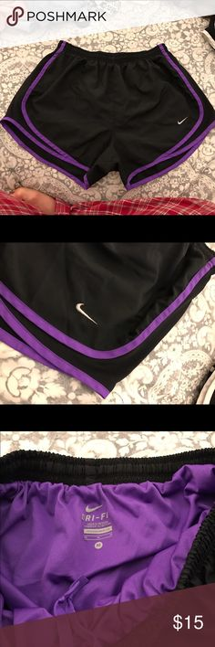 Nike Dri- Fit running shorts Gently worn. Too small for me. Nike Shorts