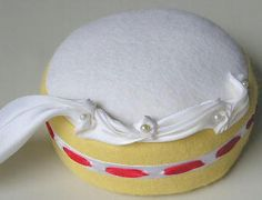 Stitch the cream line