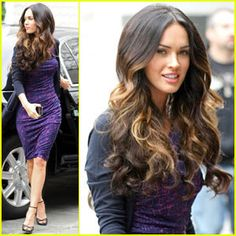 Ombre Highlights <3 and hair extensions!!! WANT BADLY!!