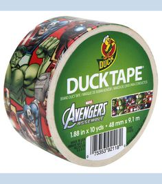 Duck Tape Repair? Shop Joann.com to find your Avengers Duck Tape