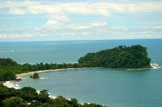 Manuel Antonio public beach, the water is 86 degrees all year round!