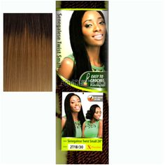 """Wed Sep 23, 2015 - #5: X-Pression Braid Senegalese Twist Small 18""""SM - Color 3T4/27/613 - Synthetic Braiding"""