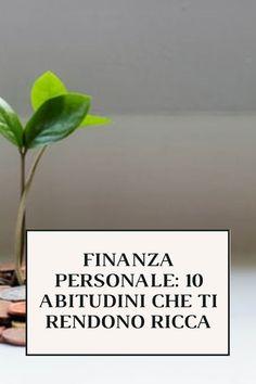 Nel post di oggi vorrei introdurre dieci consigli di finanza personale che, se applicati sistematicamente, possono davvero fare una grandissima differenza nel regalarci serenità e benessere. #soldi #finanza #risparmiare #investire #risparmio #investimento #finanzapersonale #money #personalfinance