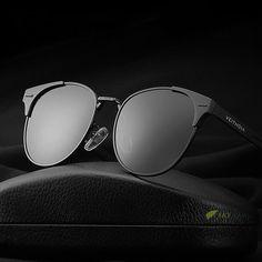 2017 Brand Men's Polarized Sunglasses Dirving Eyewear UV400 Lens HD Mirror Metal