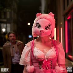 Couple Halloween, Halloween 2019, Pig Costumes, Halloween Costumes, Jodie Comer, Bobs Burgers, How I Met Your Mother, Detroit Become Human, English Actresses