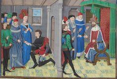 Regnault de Montauban, rédaction en prose. Regnault de Montauban, tome 1er Date d'édition : 1451-1500 Ms-5072 réserve Folio 76r
