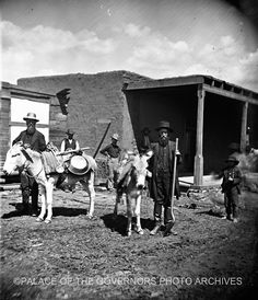 Ye Old Time Prospector  Pecos, New Mexico - 1885  Photo By: Ben Wittick