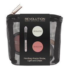 Makeup Revolution Handbag #hacks Strobe, Light & Cheek  - Click to view a larger image