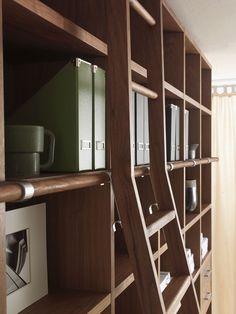 Librería composable de madera WALLSTREET by Riva 1920 | diseño Maurizio Riva, Davide Riva