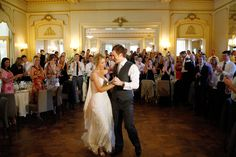 Summer Wedding: Ballroom at Ripponlea the perfect place for the first dance