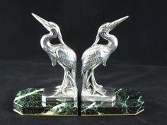 Pair of Art Deco Bookends - Maurice Frecourt http://www.loveantiques.com/pair-of-art-deco-bookends-maurice-frecourt-2704