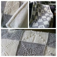 """A Blanket - From The Scheepjes CAL 2014 - In Memory of Marinke (Wink) Slump R.I.P. (Crochet Squares / Afghan / Blanket) Pattern is STILL FREE & AVAILABLE on her Blog: """"A Creative Being"""""""
