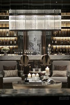 Maison Baccarat Store, Moscow designed by Philippe Starck.