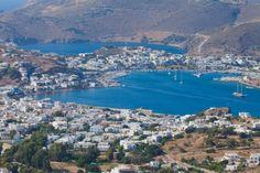 Patmos , Skala bay
