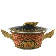 a8a7a304298 Covered vegetable bowl Ikarus Medusa Rosenthal Versace