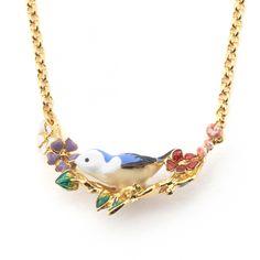 Hedgerow Floral Pendant   Fashion Jewellery - Bill Skinner