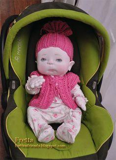 Fretta's Newborn Baby Doll. Weighted by FrettasLovableDolls
