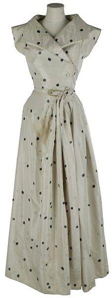 Evening dress ensemble | Jacques Fath | 1950