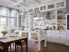 cocinas rusticas blanco
