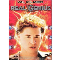 Rent Real Genius starring Val Kilmer and Gabriel Jarret on DVD and Blu-ray. Get unlimited DVD Movies & TV Shows delivered to your door with no late fees, ever. One month free trial! Real Movies, 80s Movies, Movies To Watch, Good Movies, Movie Tv, Awesome Movies, Greatest Movies, Childhood Movies, Iconic Movies