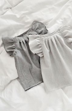 Handmade Organic Cotton Double Gauze Blouses | moonroomkids on Etsy