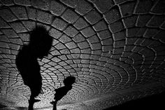 Shadows Come Alive in Stunning Black and White Scenes by Guy Cohen - via My Modern Metropolis