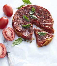Des tartelettes un peu chics ? Voici les tatins de tomates cerises à la tapenade. Une recette gourmande, idéale pour l'été.